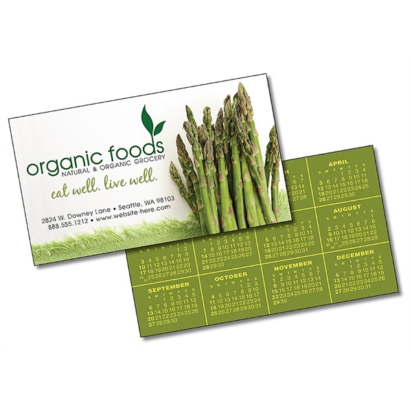 Laminated Business Card - 3.5x2 (2-Sided) - 14 pt.