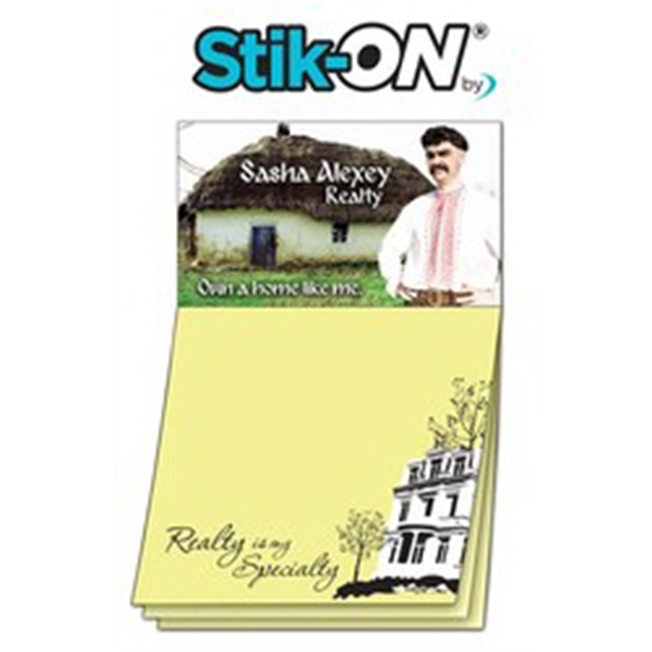 Magna-Note Business Card Magnet - Stock Realty Stik-ON(R)