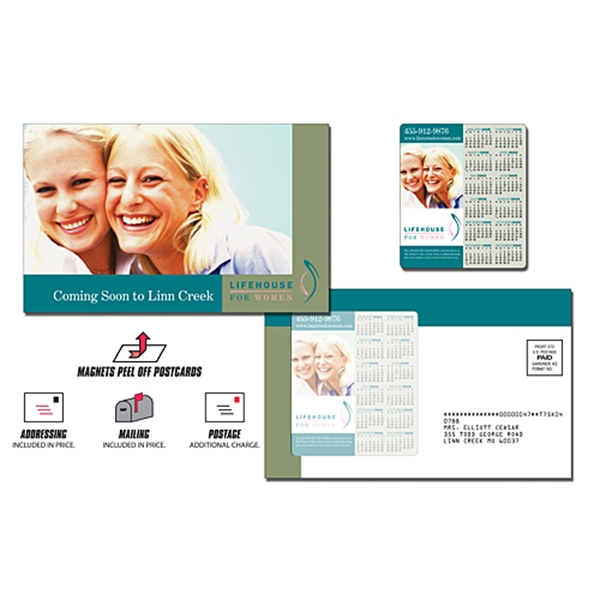 Health Magna-Peel Postcard (8.5x5.25) with 3.5x4 Magnet