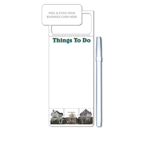 Skinny Mini Memo Boards - Stock Things To Do (3.5x9)
