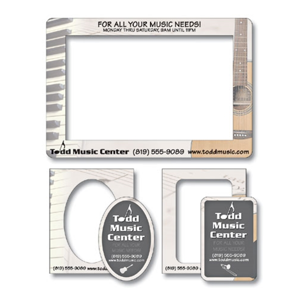 Magnet - Picture Frame Double Punch (7.375x5) - 25 Mil.