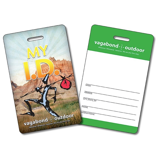 Laminated Plastic I.D./Wallet Card with Punch - 3.375x2.125