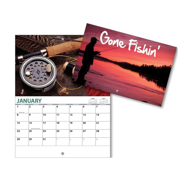 13 Month Mini Custom Photo Appointment Wall Calendar - GONE
