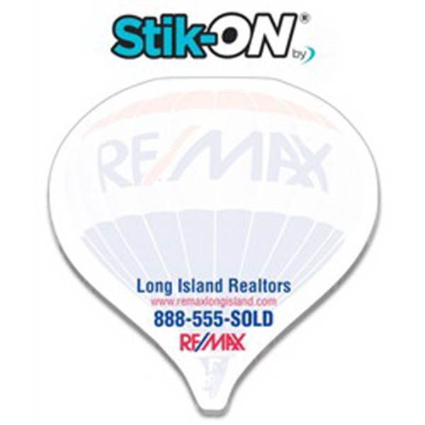 Stik-ON(R) Shape Adhesive Notes - Hot Air Balloon (3.5x3.5)