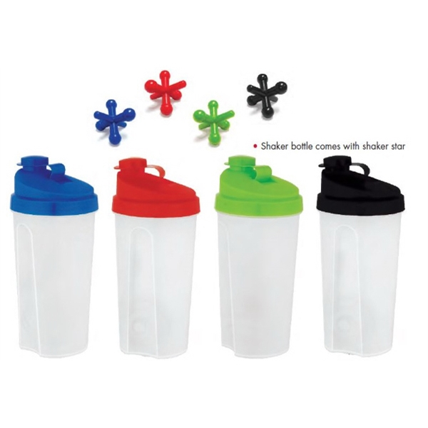 23.5 oz. Plastic Shaker Bottle