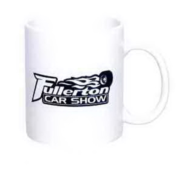 11 oz. C-Handle Mug (White)