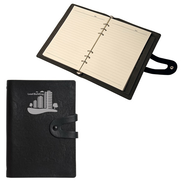 LUZERNE LETTERBOOK 6 RING MEMO BOOK