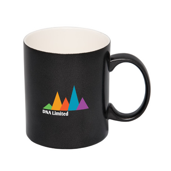 325 mL. (11 oz.) Metallic 'C' Handle Mug