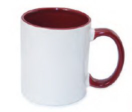 11 oz. Photo Mug (Two Tone with Color Handle)
