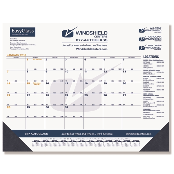 NEW! Calendar Desk Pads