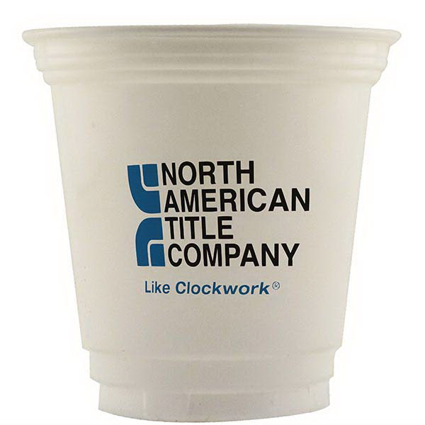 High Lines 12 oz. Economy White Plastic Cup