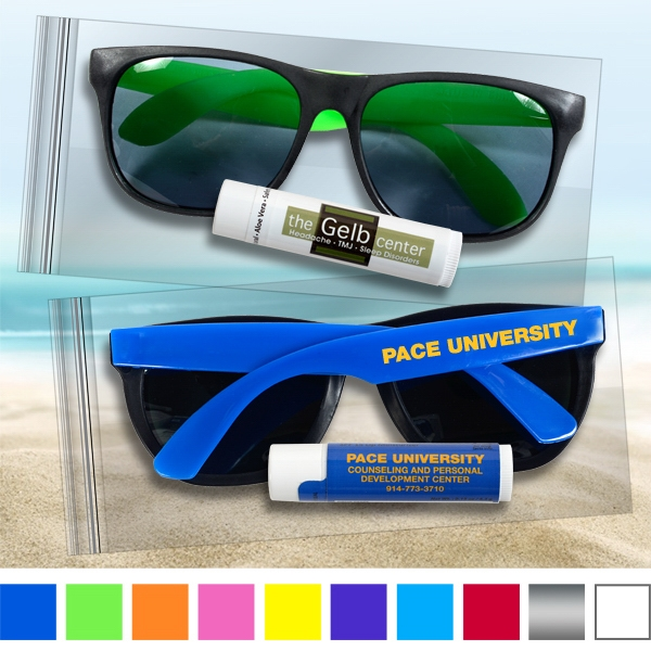 Suglasses and Lip balm - sun fun kit