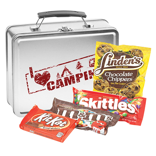 Metal Lunch Box w/ Candy Mix