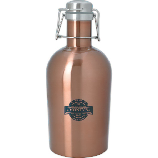Growlsteel (TM) Stainless Growler - 64 oz.