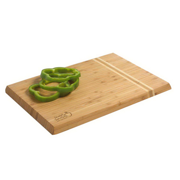 Beveled Bamboo Cutting Board