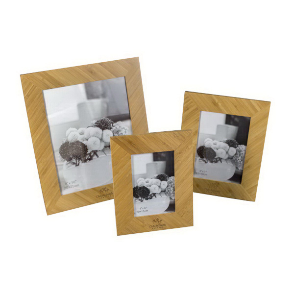Vogue Bamboo Photo Frame