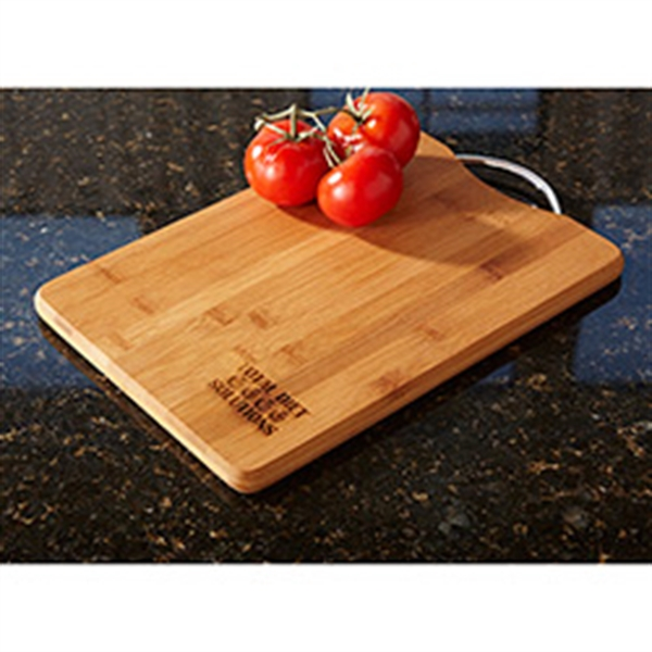 Bamboo Cutting Board with Handle