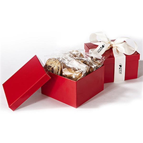1 Dozen Cookies in Box w/ Printed Ribbon