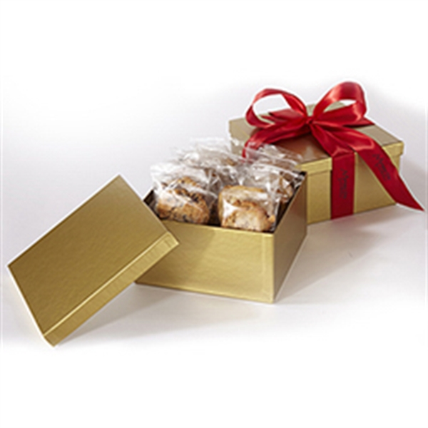 2 Dozen Cookies in Box w/ Printed Ribbon