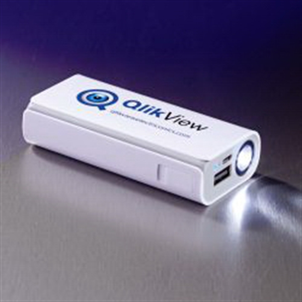Flashlight Power Bank 4000