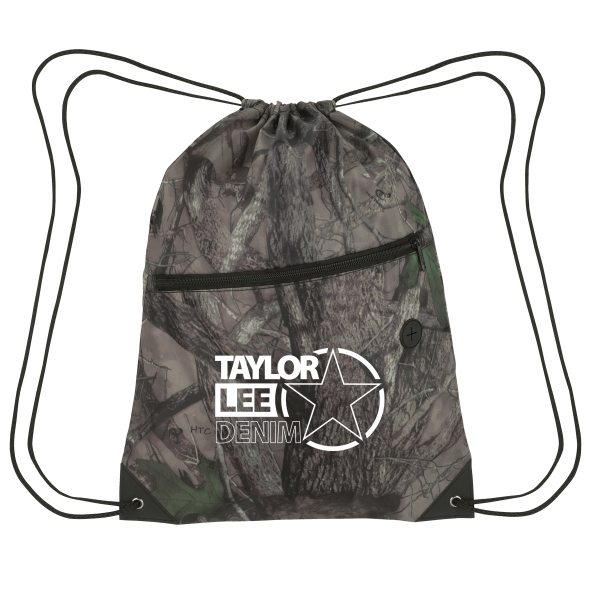 True Timber (R) Sports pack with front zipper