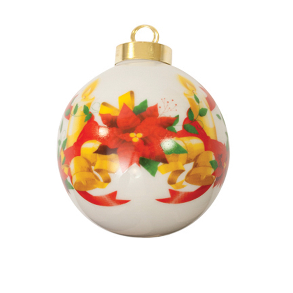 Christmas Ball Ornament - Bell