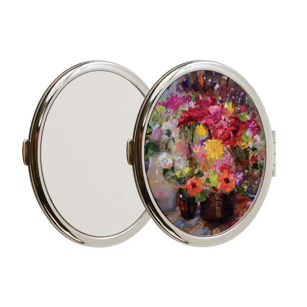 Compact Mirror - Oval