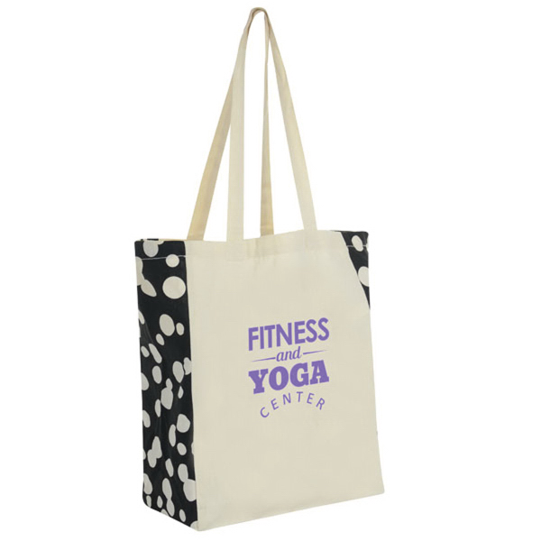 Printed Side Cotton Tote