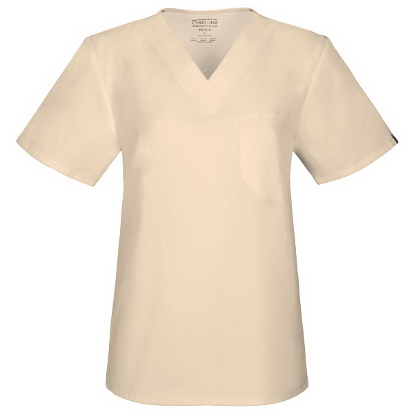 Cherokee WW Flex Unisex V-Neck Top
