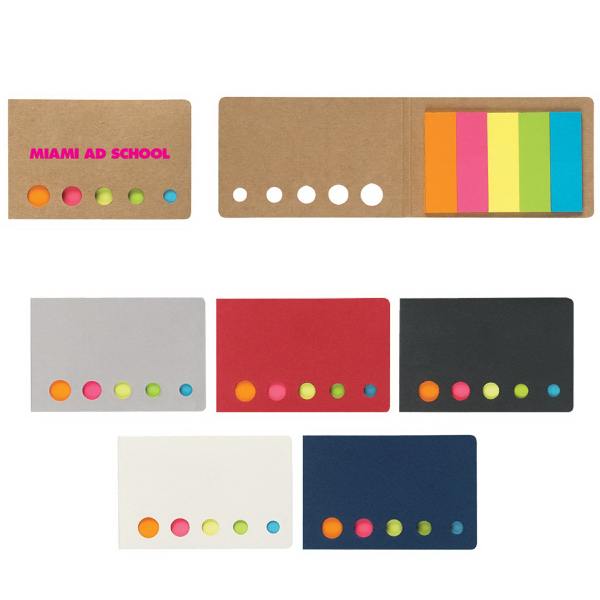 Sticky Notes Tape Flags In Pocket Case