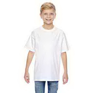 4.5 oz., 100% Ringspun Cotton nano-T (R) Youth T-Shirt