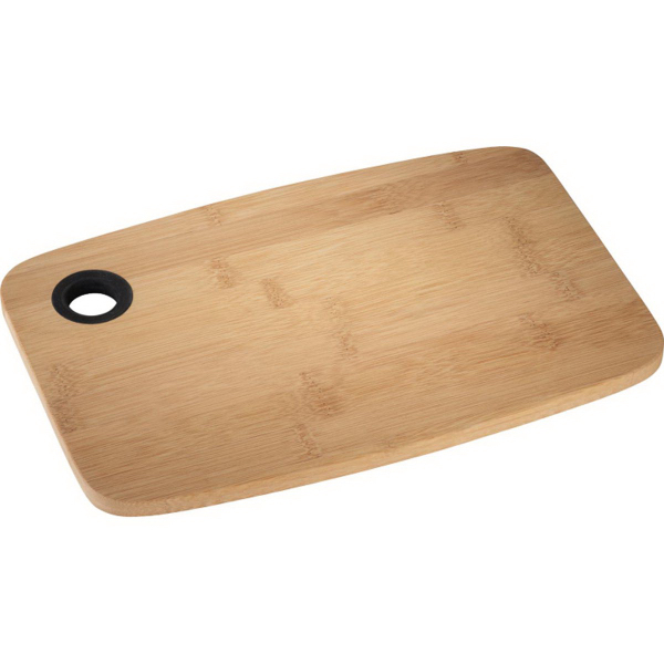 Bamboo Cutting Board with Silicone Grip