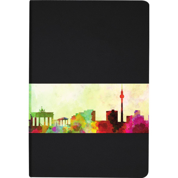 Ambassador Graphic Wrap Bound JournalBook (TM)