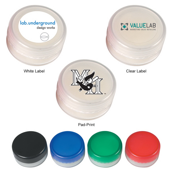 Lip Moisturizer Jar Container