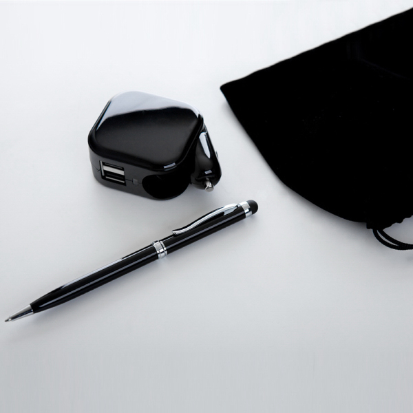 AC/DC charger with Stylus Pen Set