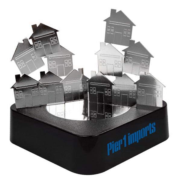 MAGNETIC SCULPTURE BLOCK - HOUSE