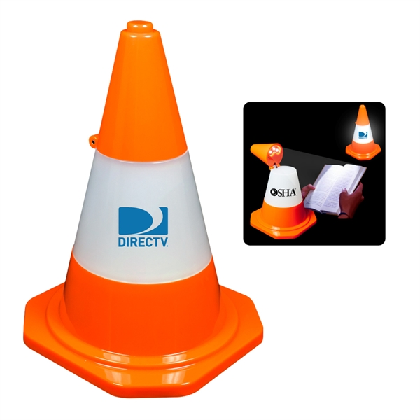 TRAFFIC CONE DESKTOP LED LAMP