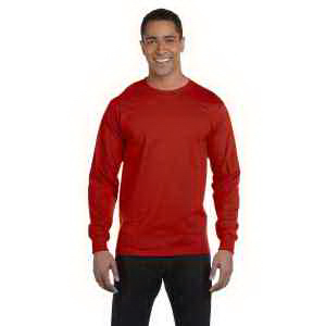 5.2 oz. ComfortSoft (R) Cotton Long-Sleeve T-Shirt