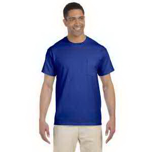 Ultra Cotton (R) 6 oz. Pocket T-Shirt