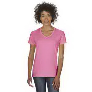 Heavy Cotton (TM) Ladies' 5.3 oz. V-Neck T-Shirt