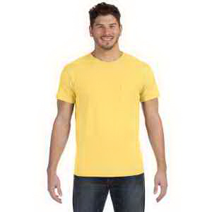 4.5 oz., 100% Ringspun Cotton nano-T (R) T-Shirt with Pocket