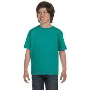 DryBlend (R) Youth 5.6 oz 50% Cotton 50% Polyester T-Shirt