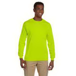 Ultra Cotton (R) 6 oz. Long-Sleeve Pocket T-Shirt