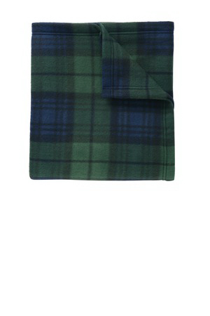 Port Authority (R) Core Printed Fleece Blanket