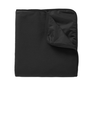 Port Authority (R) Fleece & Poly Travel Blanket