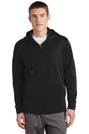 Sport-Tek (R) Sport-Wick (R) Fleece Full-Zip Hooded Jackets