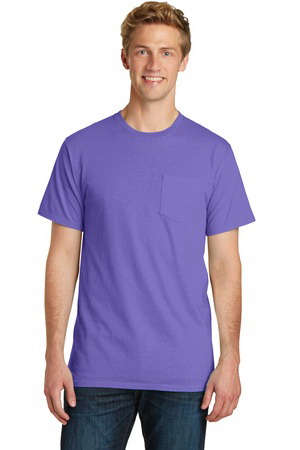 Port & Company (R) Essential Pigment-Dyed Pocket Tee