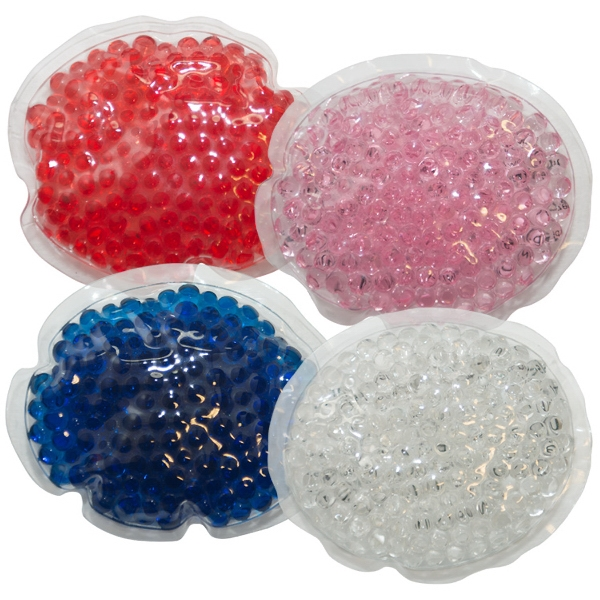 Oval Gel Bead Hot/Cold Pack