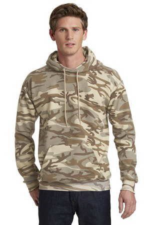 Port & Company(R) Classic Camo Pullover Hooded Sweatshirt