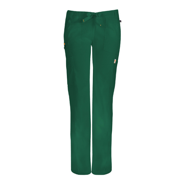 Code Happy Low-Rise Straight Drawstring Cargo Pant